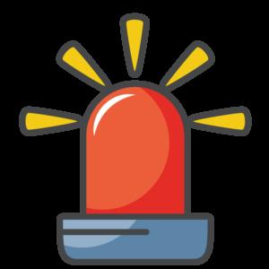 siren type light icon