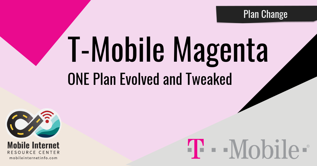 T-Mobile Magenta Plan Announcement header