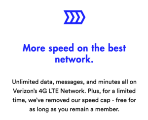 Visible Removes Speed Cap from $40/month Unlimited Verizon