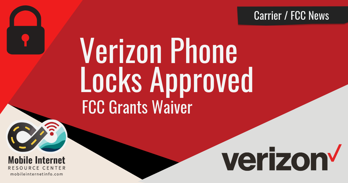 FCC approves phone lock waiver for Verizon news story header image