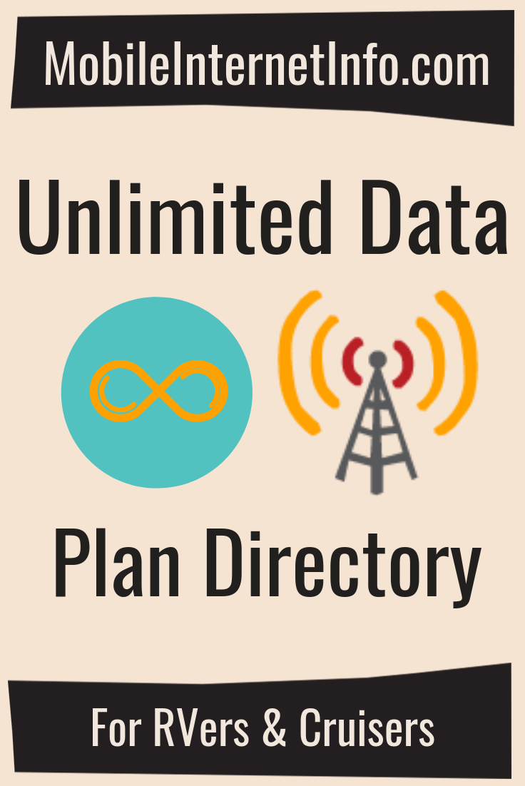 Unlimited Data Plan Options for Verizon, AT&T, T-Mobile & Sprint