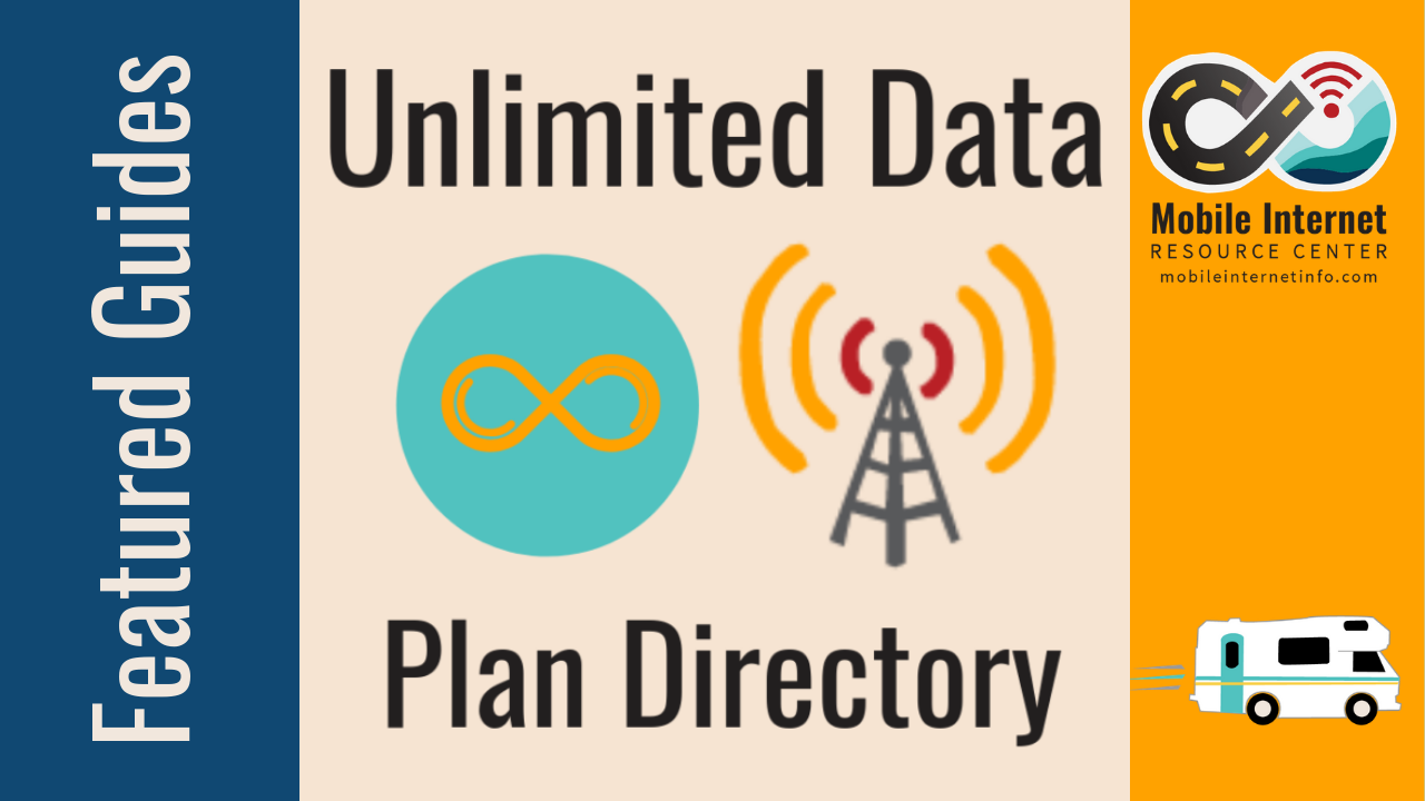Unlimited Data Plan Options for Verizon, AT&T, T-Mobile