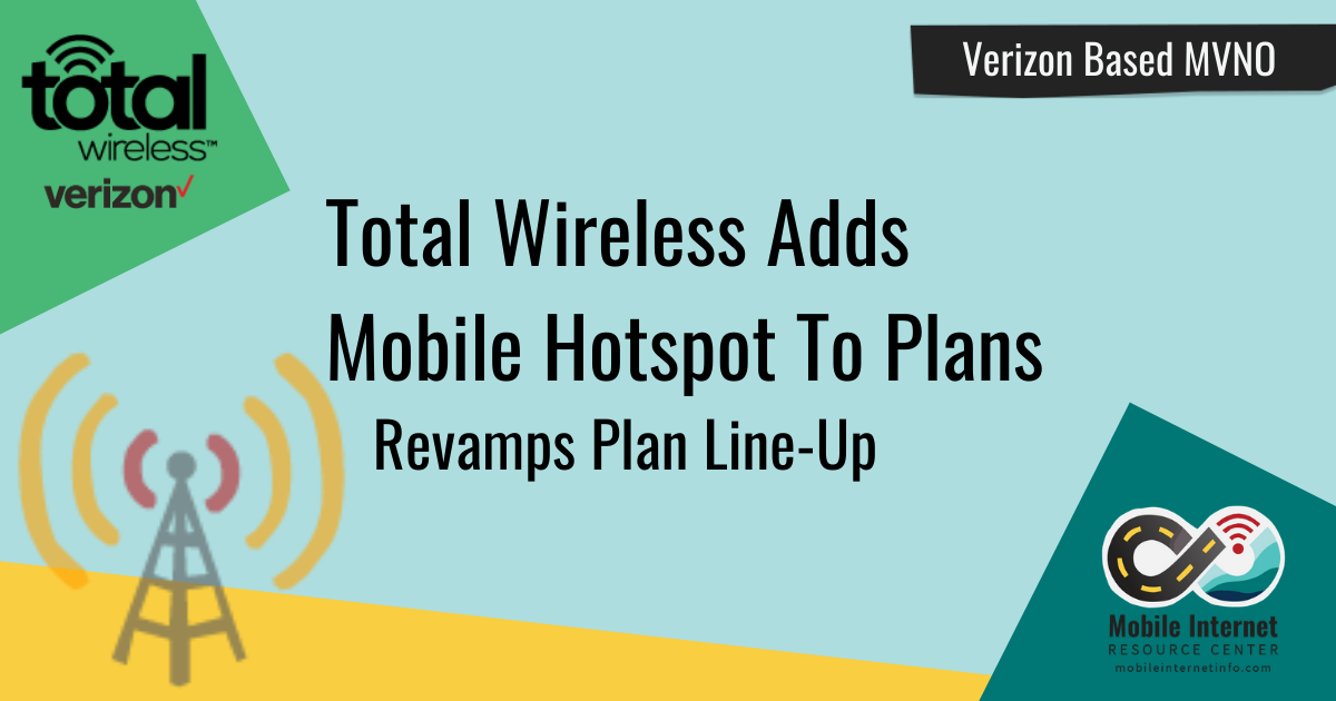 Total Wireless Adds Personal Mobile Hotspot and Offers Double Data Promo Story Graphic