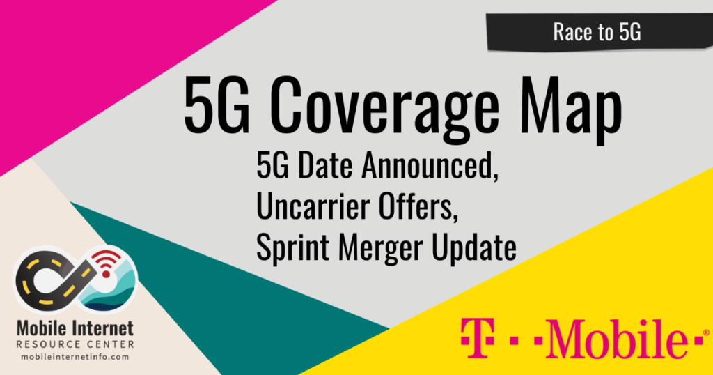 t-mobile 5g coverage map sprint update