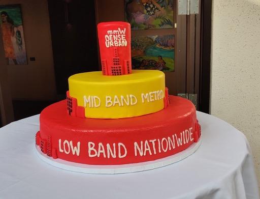 T-Mobile Spectrum 3 layer Cake