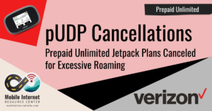Verizon Canceling Prepaid Unlimited Jetpack Plans for Excessive Domestic Roaming Story Header