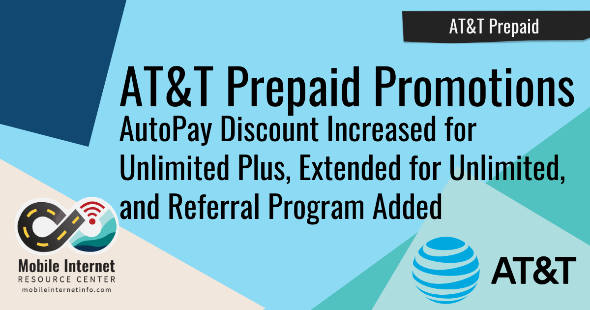 AT&T Prepaid Increases AutoPay Discount on Unlimited Plus Plan header