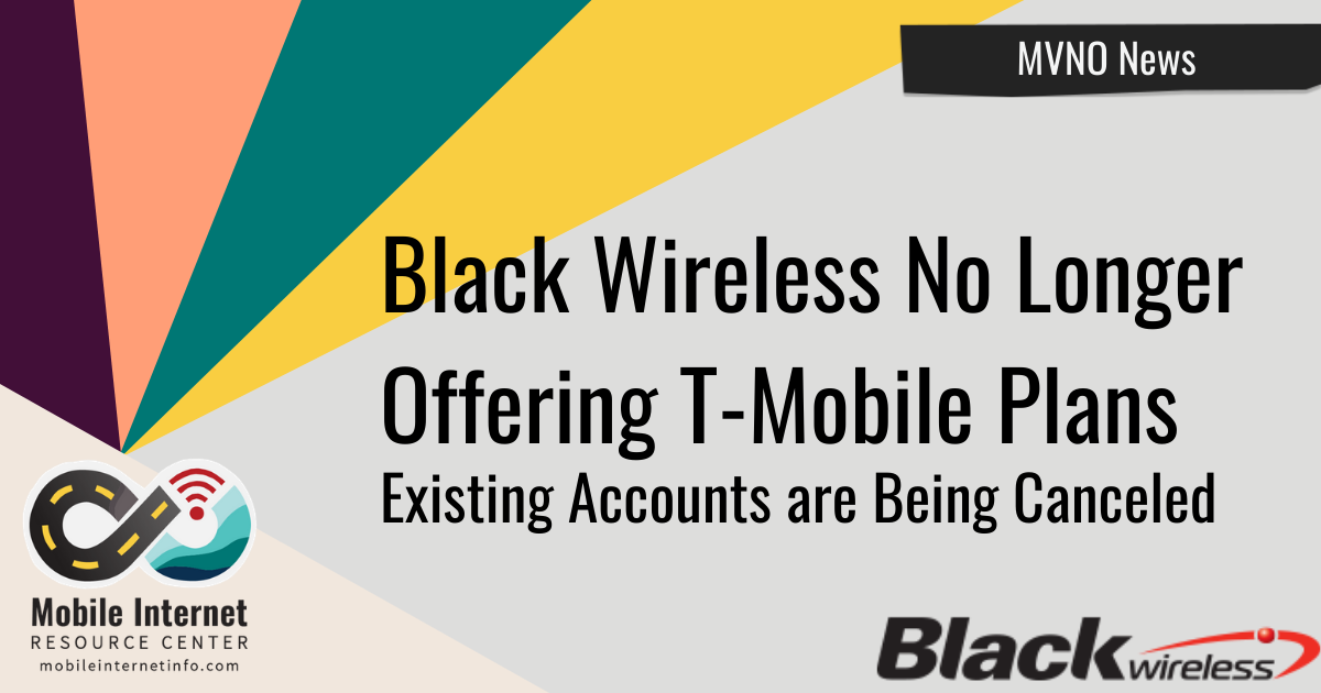 Black Wireless No Longer offering T-Mobile Plans header