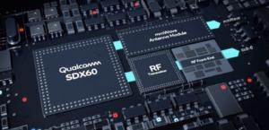 Qualcomm X60 modem chipset visualization