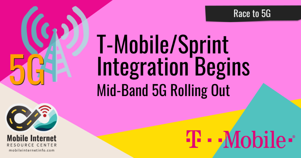 t-mobile sprint integration mid band 5g