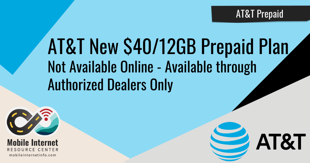 AT&T Prepaid Introduces New 12GB for $40 Plan Header