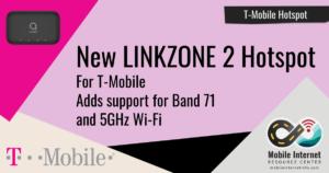 New Alcatel LINKZONE 2 Hotspot Available for T-Mobile Header