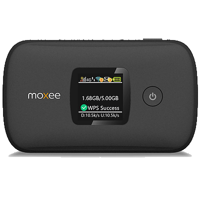 Moxee mobile hotspot device