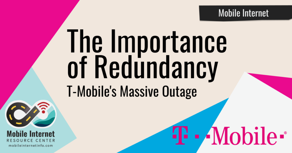 important of redudancy t-mobile outage