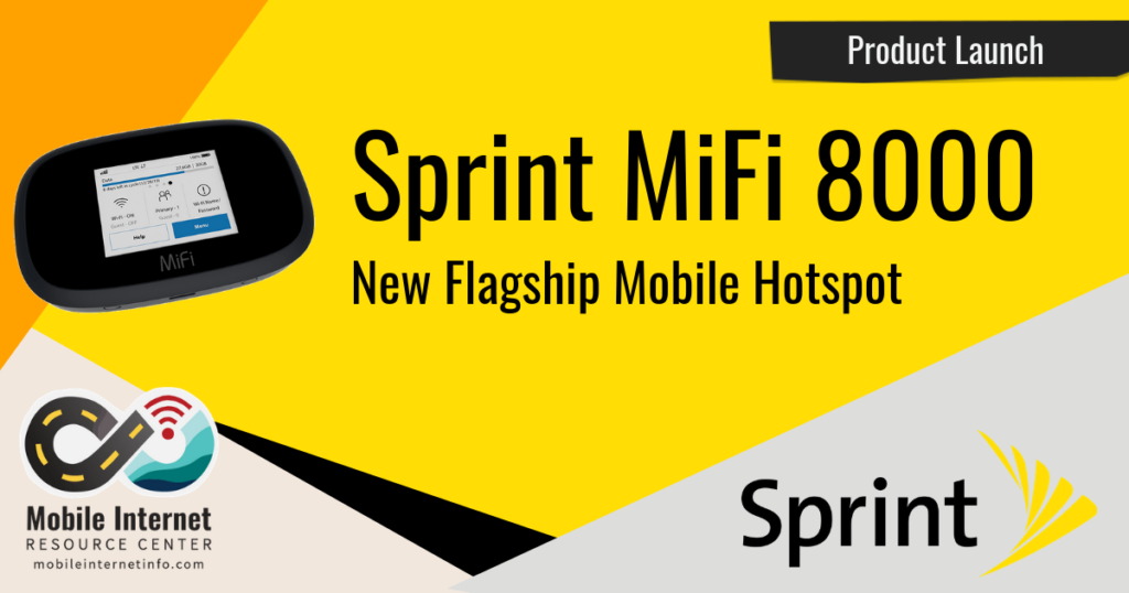 Sprint Launches Inseego MiFi 8000 Mobile Hotspot Header Image