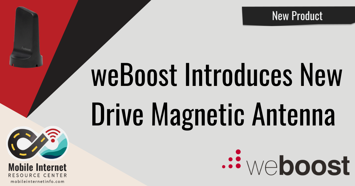 weBoost Introduces New Drive Magnetic Exterior Antenna Header