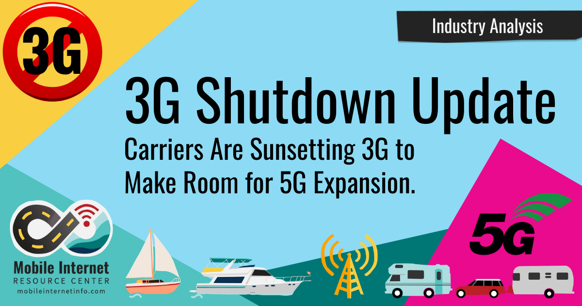 3G Shutdown Update: Carriers Sunsetting 3G to Make Room for 5G story header