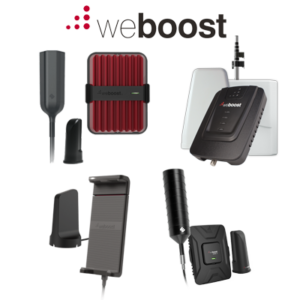 weBoost Cellular Boosters Reach RV 65 Sleek and 4G-X