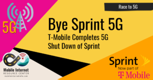sprint 5g shut down t-mobile mid band