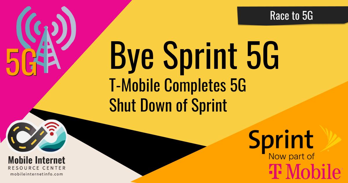 T-Mobile Completes Shutdown of Sprint's 5G Network header