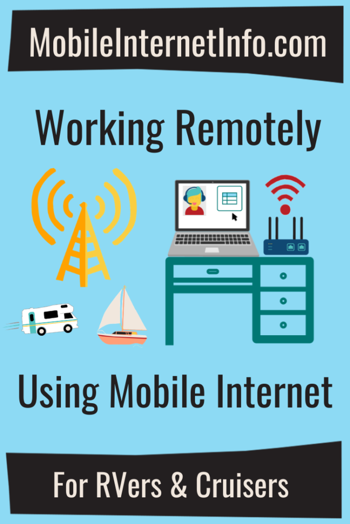 Working Remotely Using Mobile Internet Featured Guide graphic