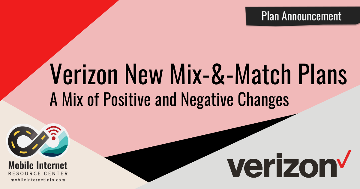 Article Header: Verizon Mix-and-Match Plans and Plan Changes
