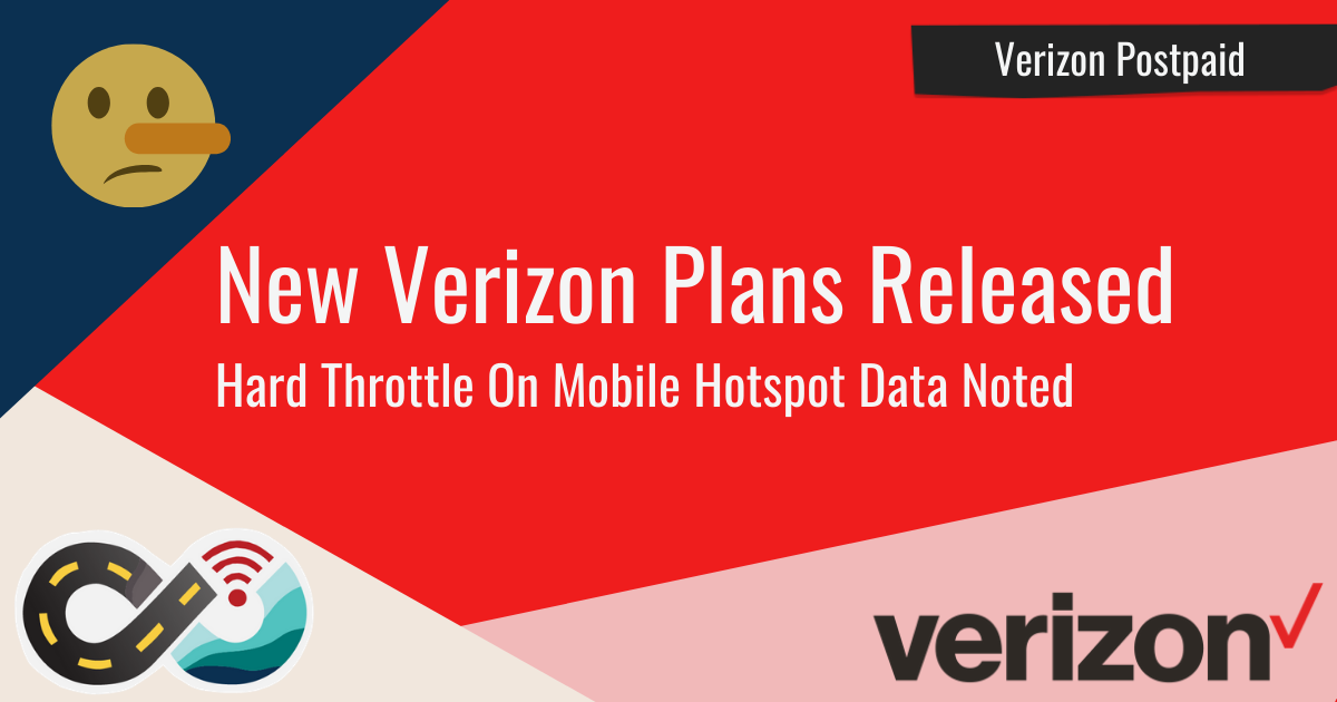 Article Header: New Verizon Plans Released - Terms Different From Announcement