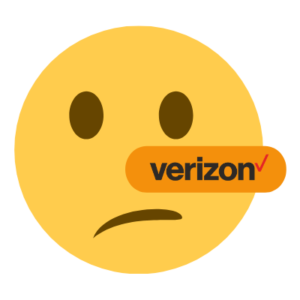 Verizon Liar Emoji