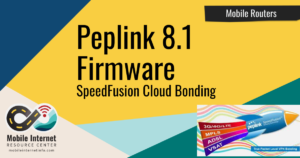 Article Header: Peplink 8.1 Firmware Including SpeedFusion Cloud Bonding