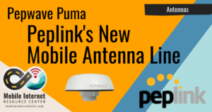 Article Header: Peplink Puma Combination Antenna Released