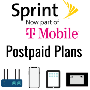 sprint t mobile postpaid plans