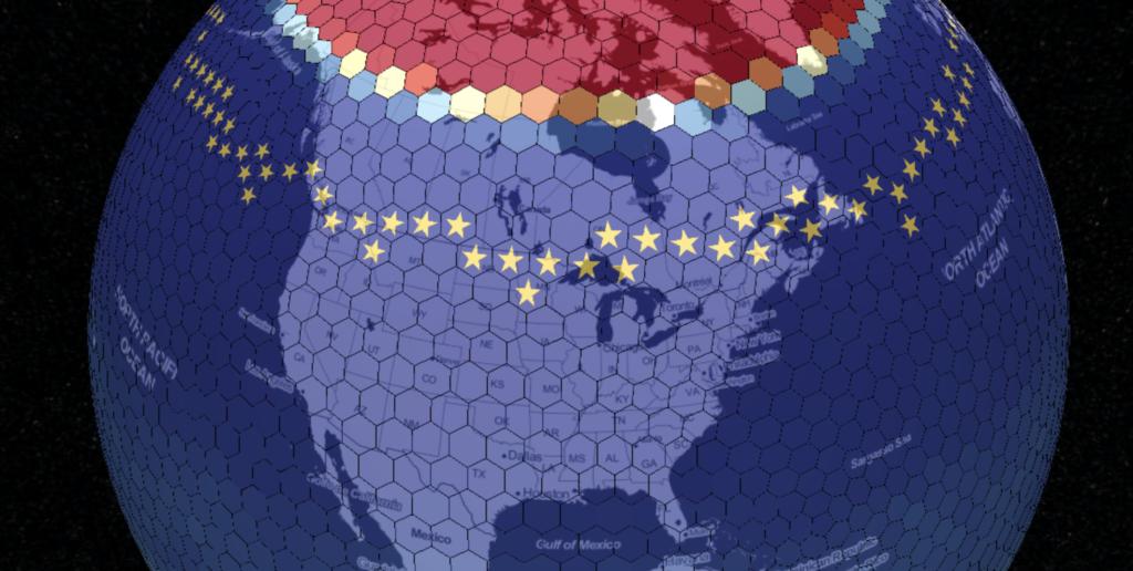 Starlink Progress Tracker Map from September 2020