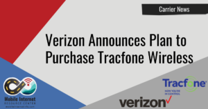 Article Header: Verizon to Purchase Tracfone Wireless