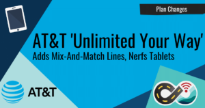 Article header: AT&T Unlimited Your Way Mix and Match