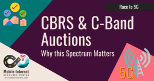 cbrs c-band spectrum auctions 5g verizon dish