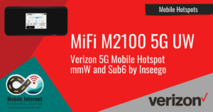 Article Header: Verizon Releases MiFi M2100 5G UW Mobile Hotspot