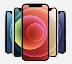 iPhone 12 color selection