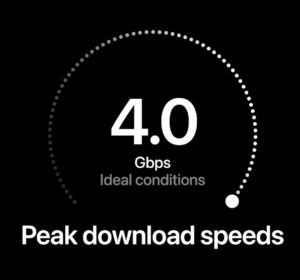 Verizon claims 4Gbps downloads speeds with the iPhone 12