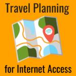 Travel Planning around Mobile Internet