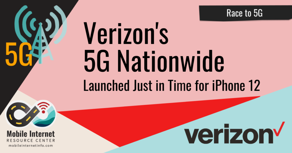verizon nationwide 5g launched