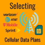 how to select a cellular data plan