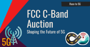News Header: FCC C-Band auction - shaping the future of 5G.