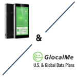 GlocalMe Header Image Showing Logo and Device