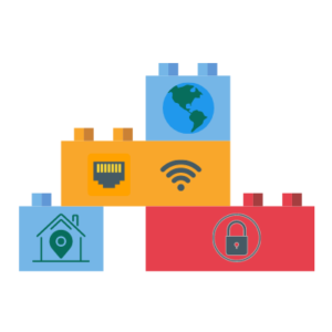 building blocks router