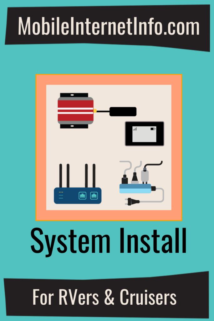 mobile internet system gear installation