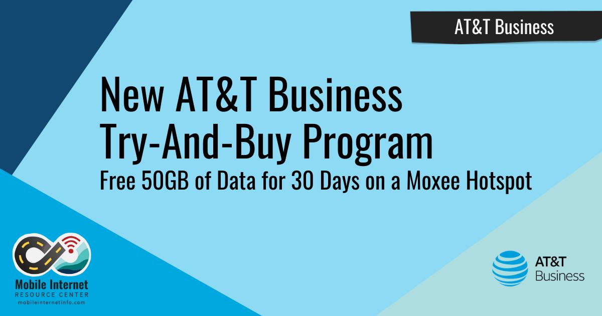 att business try and buy program