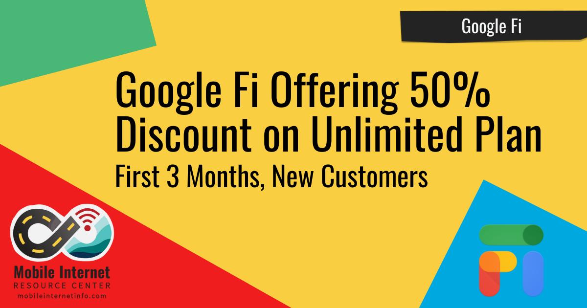google fi 3 months discount