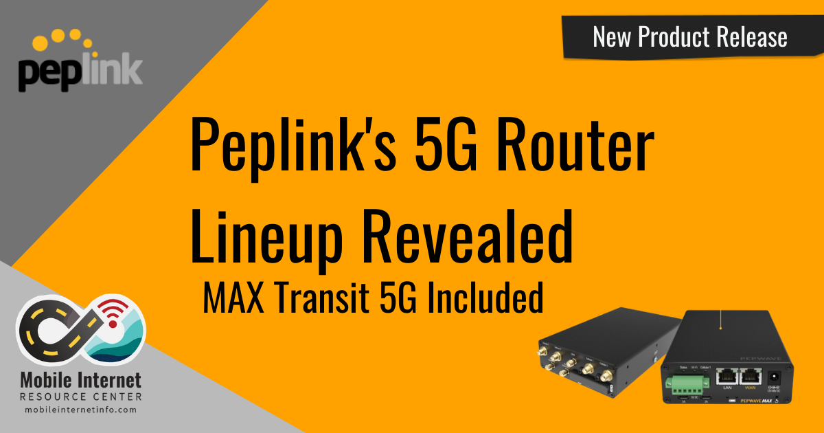 peplink 5 router lineup revealed