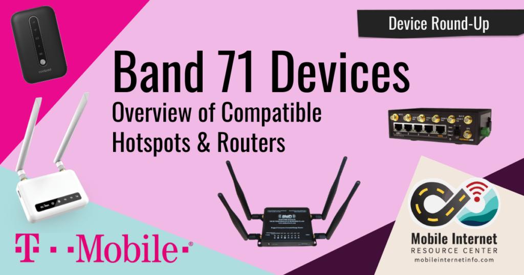 t-mobile band 71 modem hotspot router devices