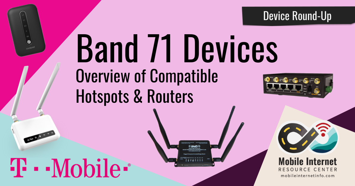 An Overview of T-Mobile LTE Band 71 and Compatible LTE Modems & Routers header